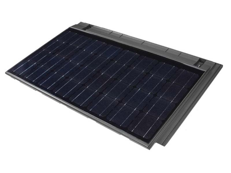 Tractile Solar Tile with built in heated water channels.