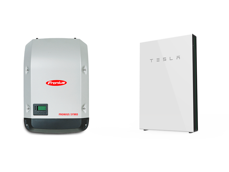 Fronius Inverter with Tesla Powerwall Solar Battery
